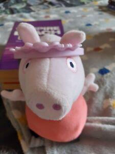 Princess Pig Cuddly Toy With Tiara