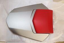 Yamaha Rear Seat Cowl Silver with Soft Red Pad 2008 Yamaha YZF R6 Genuine OEM