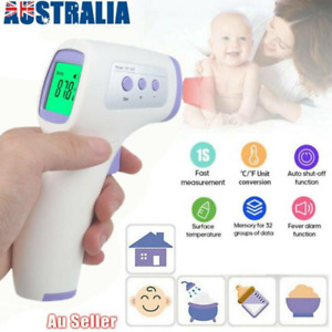 IR Thermometer Forehead Non-contact Infrared Temperature Digital Body Baby Adult