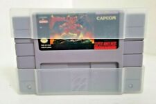 DEMON'S CREST FOR SUPER NINTENDO SNES - AUTHENTIC!! WORKS PERFECT!!!!