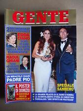 GENTE n°7 1984 Festival di Sanremo Speciale Romina Power Albano  [G739]