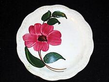 Heritage Ware Floral Dessert Plate Stetson Hand Painted Underglaze Table Vintage