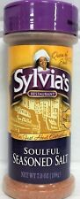 Sylvia's Restaurant Soulful Seasoned Salt 7 oz Sylvias