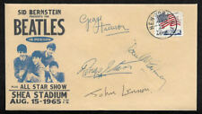 The Beatles 1965 Shea Stadium Concert Collector Envelope With 1960s Stamp OP1258
