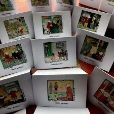 Handmade Rupert The Bear Happy Birthday'Original Picture Cards&Envelopes - X 12