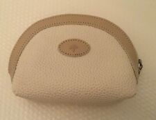 Mulberry Cream Scotchgrain & Leather Trim Coin Purse/Small Makeup
