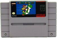 Super Mario World Super Nintendo 1990 SNES Tested