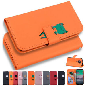 Case For Nokia 2.4 3.4 Magnetic Leather Stand Flip Wallet Phone Cover Shockproof