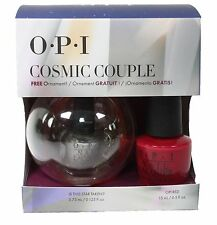 OPI Cosmic Couple Gift Set OPI Red Is This Star Taken Nail Polish Free Ornament