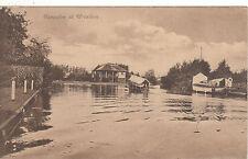 Bungalow & River Scene, WROXHAM, Norfolk