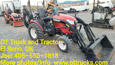 2017 Yanmar Sa424 4x4 Tractor Compact Front End Loader Backhoe 23hp