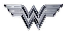 Wonder Woman 3D Chrome Car Emblem Officially Licensed DC Comics Justice League