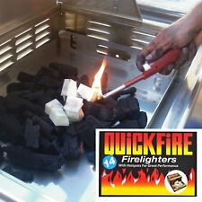 Quickfire Firelighters Burners Campfires Bonfires Wood Chimineas BBQ Barbecues