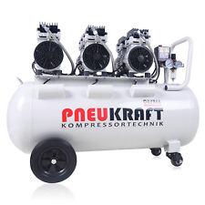 Flüster Kompressor Luftkompressor 100L 3PS Ölfrei Silent Airbrush 65dB Leise