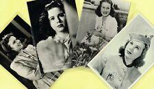☆ DEANNA DURBIN ☆ Various 1930s/1940s Film/Movie Star Postcards