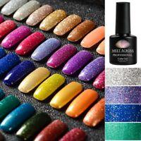 57Colors MEET ACROSS Starry Glitter Gel Nail Polish Nail UV LED Varnish DIY 7ml