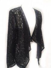 George Size 10 Lace Blazer Jacket Waterfall Front Bnwt