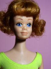 Vintage Beautiful Midge Model # 860 Titian Hair,OSS, White Mules, Original Box