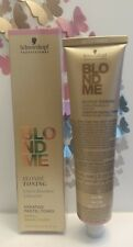 Schwarzkopf BlondMe Bond Enforcing Blonde TONER T-SAND 2.02oz.