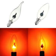 E14 E27 Feuer Flammen effekt Licht LED Birne Kerzen Lampe Party Hause Xmas Dekor