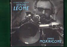 ENNIO MORRICONE LA MUSICA NEL CIMENA DI SERGIO LEONE CD NUOVO SIGILLATO