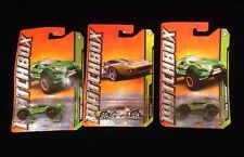 Matchbox Car Lot Of 3 Cars New Unopened (see Photo & Dicription For Details)