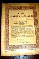 PETIT GRADUS AD PARNASSUM fascicule 5 moyenne difficulté 44 pages
