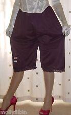 Vintage style purple soft nylon pantie slip~pettipants~culottes size 20~22