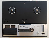 Vintage Sony TC-250A Tape Recorder Player Reel to Reel HIFI FOR PARTS OR REPAIR