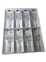 8 pc Cristal dArques Longchamp 24% Lead Crystal Wine Goblets Glass Decanter 👏
