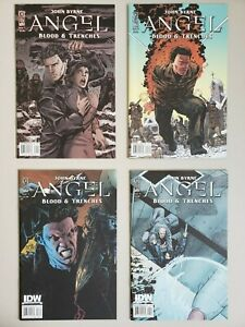 Angel Blood & Trenches 1 2 3 4 IDW 1st Prints 2009 Buffy Set Run Lot 1-4 VF/NM
