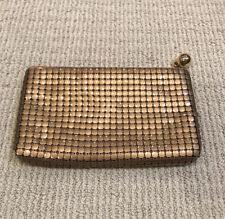New listing Rare Vintage Coin Purse Original Art Deco 1930's Whiting & Davis Co Mesh Bag Usa