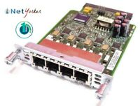 Cisco VIC3-4FXS/DID • 4-Port Voice/Fax Interface Card ■ Fast Shipping ■