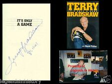 TERRY BRADSHAW Autographed Signed Book NFL Pittsburgh Steelers Super Bowl