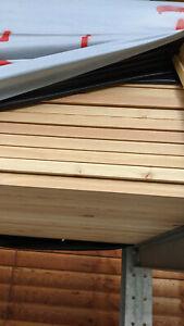 Glattkantbretter 21 x 58 x 6000 mm Sibirische Lärche Holz Tischlerei Zimmerei