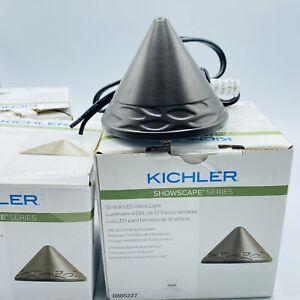 4 Kichler Showscape Series Bronze 12-Volt Low Voltage LED Deck Light 0805227 New