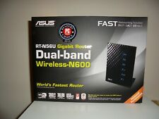 ASUS RT-N56U Wireless N600 Gigabit Router 300 Mbps 4-Port SWITCH  used