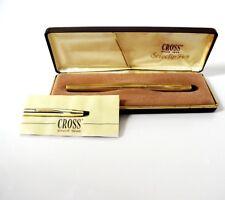 Vintage 1988 Cross Selectip Pen 1/20 10K Rolled Gold Filled