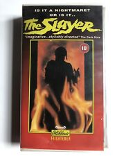 VHS Video ~ The Slayer ~ Sarah Kendall ~ Vipco Cult Classic Frightener