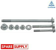 REPAIR KIT, WHEEL SUSPENSION FOR BMW LEMFÖRDER 37831 01