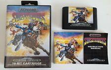 Sunset Riders Sega Mega Drive Pal Completo