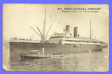 CPA- SS GOUV Général Jonnart - Paquebot de la Cie Transatlantique