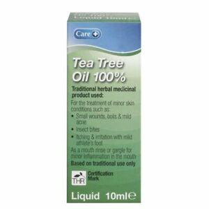 Care+ Tea Tree Oil Liquid 100% New