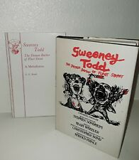 Sweeney Todd Demon Barber of Fleet Street 1st Edition (1979) & Actor's Edition