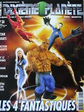 """Magazine (très bel état) - Dixième planète 36 (couverture """"Les 4 fantastiques"""")"""
