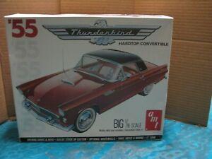 Vintage AMT Matchbox '55 Ford T-Bird H.T./Conv 1:16 Sealed inside Box