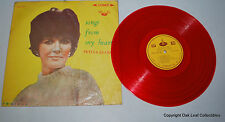 Petula Clark Songs From My Heart LP CSJ-337 Taiwan RED Vinyl Record Stereo 1966
