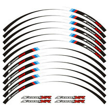 "For BMW S1000XR MOTORCYCLE 17"" CUSTOM RIM STRIPES WHEEL DECAL TAPE STICKER"