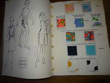 Galeries Lafayette rare catalogue vintage été 1967 complet avec tissus
