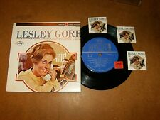 LESLEY GORE - MINI LP STEREO MERCURY 648  / LISTEN - TEEN GIRL POPCORN